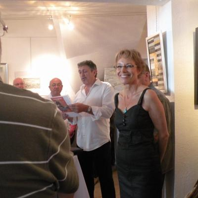 Vernissage Expo avec Jean Camoin